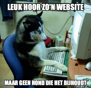 Website actueel houden